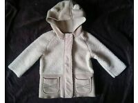Girls 12-18 month coat. NEXT. Excellent condition