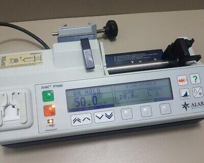 Alaris Ivac P7000 Syringe Pump Infusion Universal Pump Iv.