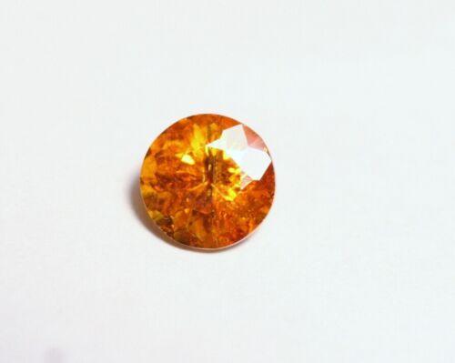 1.4ct Sphalerite - Custom Vibrant Round Cut Gem - Spain - Gem Sphalerite 6.5x6.5