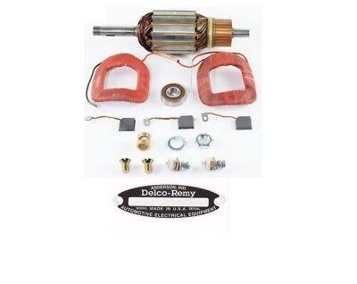 Ih Farmall Super C Tractor 6 Volt Delco Generator 1100539 Complete Repair Kit