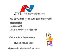 JNL professional painters and renovations
