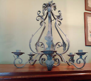 FRENCH STYLE CANDLE CHANDELIER West Island Greater Montréal image 1