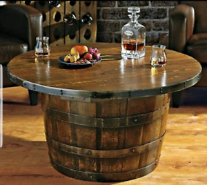 Whisky/Wine barrel coffee table
