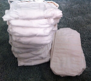 2 sets of 10 cloth diapers with inserts, $40 each Sarnia Sarnia Area image 1