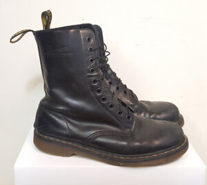 Dr Marten 1490 ( 10 Hole ) Leather  Boots   • [ Mens Size 11 ]
