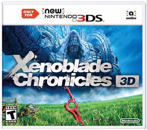 Xenoblade Chronicles 3D for New Nintendo 3DS - Mint Condition!