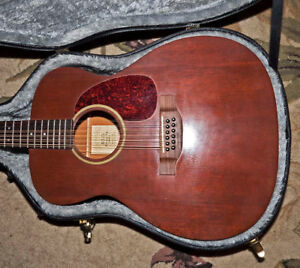 Martin J12-15 12-string guitar (with case)
