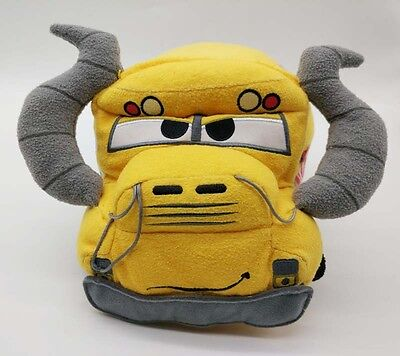 Authentic Disney Store Tsum Tsum Cars 3 Miss Fritter Monster Truck School Bus