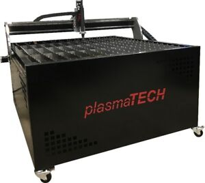 CNC Plasma Cutting Table - Built in Canada by plasmaTECH