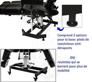 lit chaise fauteuil de tattoo inkbed Saguenay Saguenay-Lac-Saint-Jean image 2