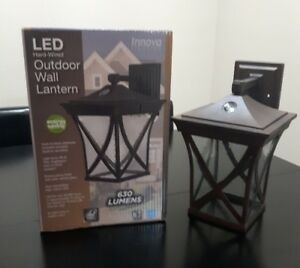 LED Hard Wired Outdoor Wall Lantern