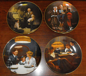 Norman Rockwell Collector Plates St. John's Newfoundland image 2