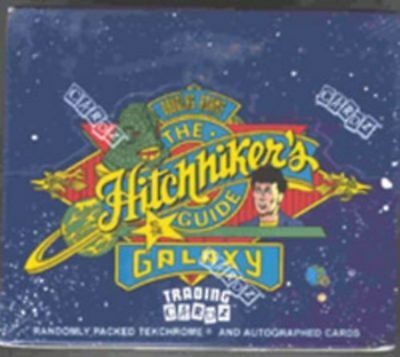 Hitchhiker Guide To The Galaxy Trading Card Box
