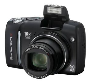 Canon Powershot SX110IS 9MP Digital Camera with 10x Optical Zoom