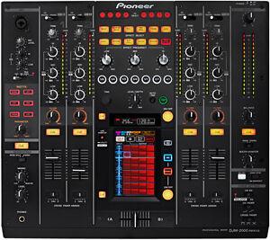 DJ Equipment for Rental CDJ 2000 / DJM 2000
