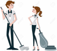 CLEANERS WANTED - Full Time Male & Female