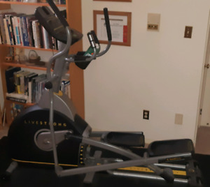 Livestrong Elliptical, Barely Used, priced to sell fast