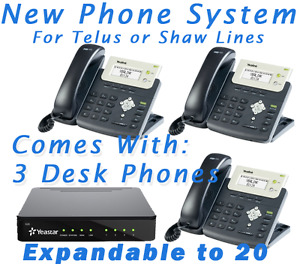 GREAT DEAL! - New Office Phone System for Telus or Shaw