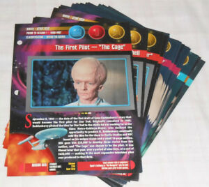 STAR TREK Universe File Cards Coasters 1997 Newfield