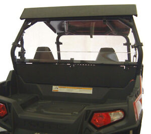Polaris RZR Rear Windshield & Back Panel Combo | UTVPartsonline