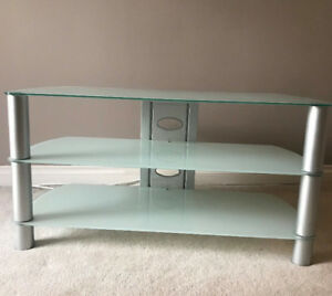 TV Stand - Glass - Like New