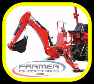 NEW 3 point hitch BACKHOEs, IN STOCK NOW, 6' and 7' dig depth