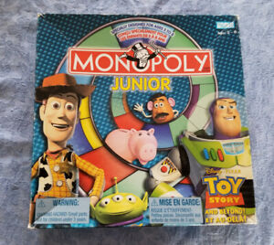 MONOPOLY JUNIOR TOY STORY GAME