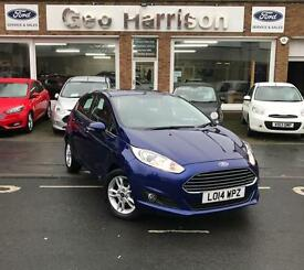 Ford Fiesta 1.0 100ps EcoBoost Zetec - JUST 5750 MILES