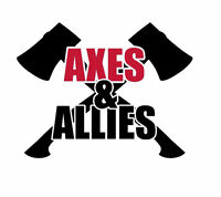Full time and part time coaches needed for axe throwing venue
