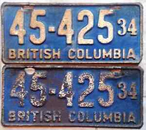 **  Vintage Collector License Plates **   60's, 70's, 80's......