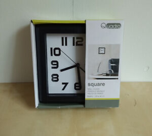 NEW – Quadro Wall Clock