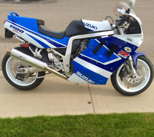 GSXR 1100, Big Bore Kit & more.  Fast Beast!  Trade for boat?