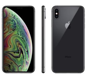NEW SEALED    IPHONE XS 64GB   BLACK UNLOCKED WARRANTY