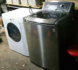 Lg top load washer and dryer kenmore
