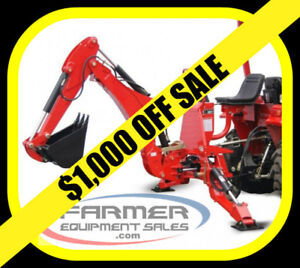 NEW 3 point hitch BACKHOE,  6' and 7' dig depth sizes - ON SALE