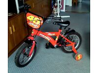 DAWES THUNDER Childs bike. With stabilisers. Good condition. Call 07546828372 for more details.