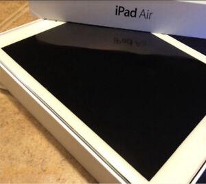 Apple Ipad Air white and silver 16 gb
