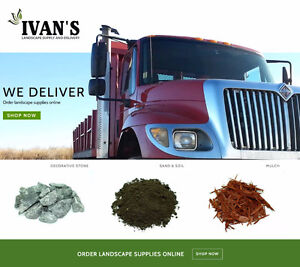 Soil, Sand, Gravel, Stone, Mulch - Order Online, Local Delivery