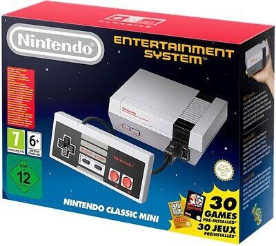NUOVO NES Console Nintendo Classic Mini + 30 giochi precaricati + 1 controller