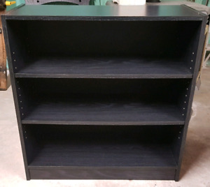 Mint Condition Black Bookcase for $25