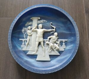 Incolay The Return of Ulysses Collector Plate