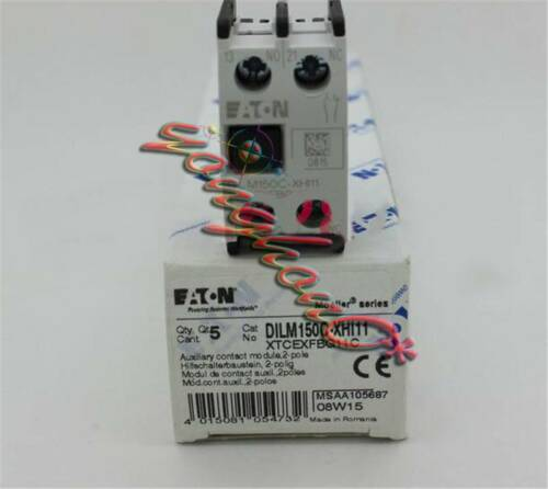 5PCS New Electrical Equipment DILM150C-XHI11 EATON Moeller Contactor
