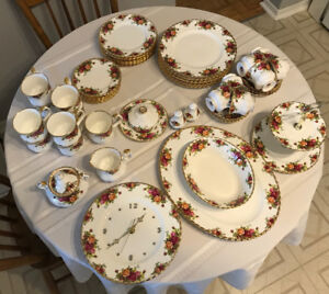 Royal Albert Fine China for Sale, Old Country Roses patern,