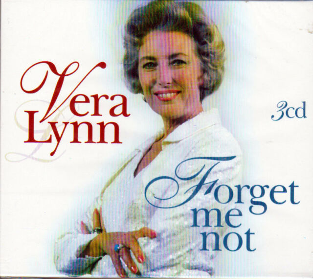 VERA LYNN - FORGET ME NOT (NEW SEALED 3CD BOX SET)