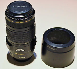 CANON 70-300MM CAMERA LENS