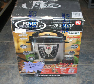PPC Power Pressure Cooker, X-Large, Silver