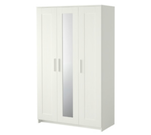 IKEA White Wardrobe with 3 doors
