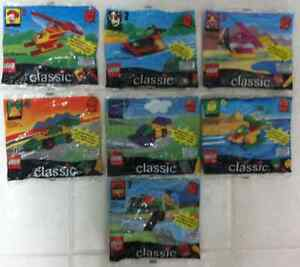 LEGO CLASSIC MCDONALDS SET OF 7 SEALED NEW FROM 1998-1999