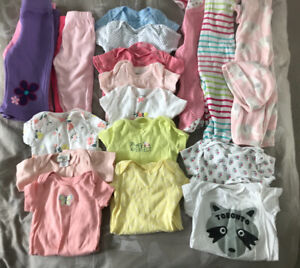 Expecting a girl in June? Baby clothing lot!