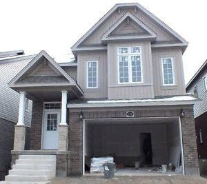 New house in Vista Hills near U of Waterloo, Laurier & Boardwalk